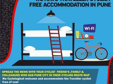 Bikefriendly Stay: Free Accommodation in pune  First bicycle store in India we