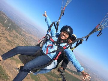 Events: kamshet paragliding