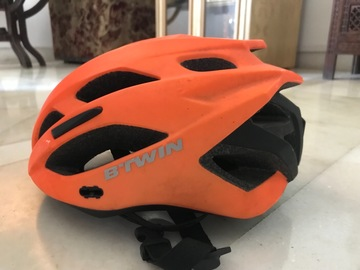 For Sale: Brand New Orange Light Weight Helmet