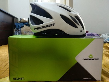 For Sale: Merida cycling helmet