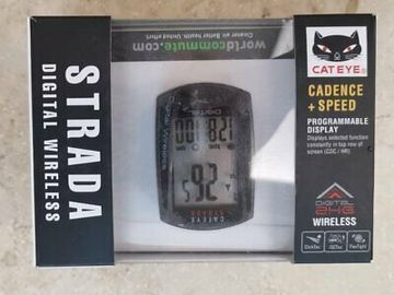 For Sale: CATEYE STRADA (CC-RD410DW) with cadence + speed meter