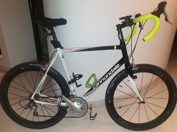 For Sale: for sale cannondale caad 8 with carbon wheels size 58
