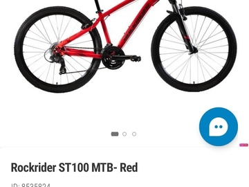 Excellent Condition Rockrider ST100 MTB for Sales