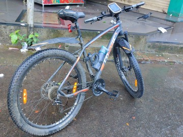 For Sale: Cosmic Tusk 29 customised mountain touring bike.
