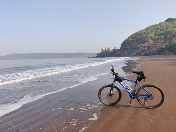 Cycling Content: Mumbai to Goa Cycling Expedition