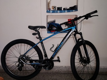 For Sale: OnTrack Street 27.5 MTB, 1month old with 5000rs accessories