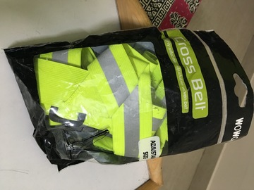 For Sale: WOWOW CROSS BELT reflective belt for sale @ 700