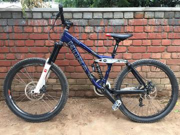 For Sale: Kona DH bike, Ticket Stub Used bikes for sale