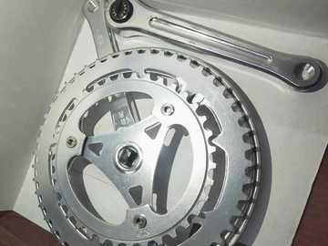 For Sale: CHAIN WHEEL AND CRANK